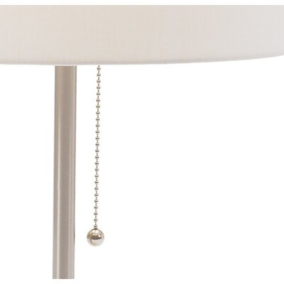 Fangio Lighting Table Lamp in Brushed Steel