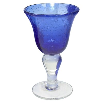 Iris Wine Glass in Cobalt Blue (Set of 4)