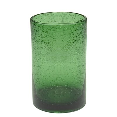 Iris Highball Glass in Green (Set of 4)