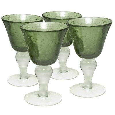 Iris Wine Glass in Sage (Set of 4)