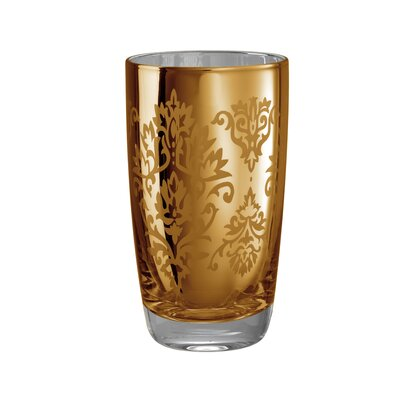 Brocade Highball Glass in Gold (Set of 4)