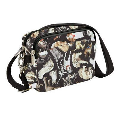 Sydney Love Cats and Dogs Nylon Rip stop Belt Bag / Across Body