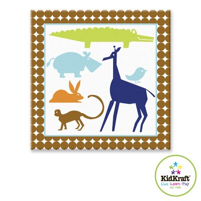 KidKraft Boy Animals Canvas