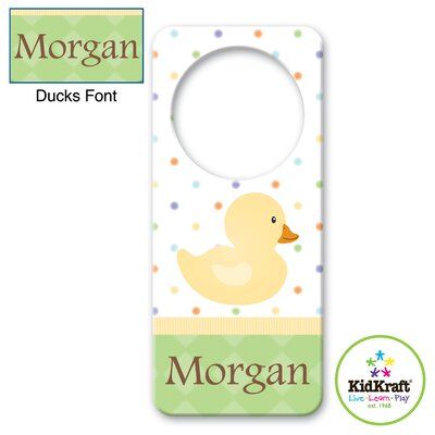 KidKraft Personalized Duck Door Hanger