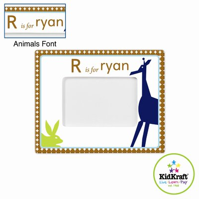 Personalized Boy Animal Frame