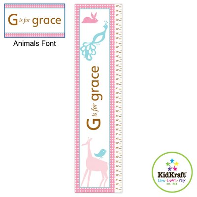 KidKraft Personalized Girl Growth Chart