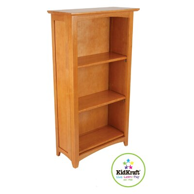 "KidKraft Avalon 46"" H Bookcase in Honey"