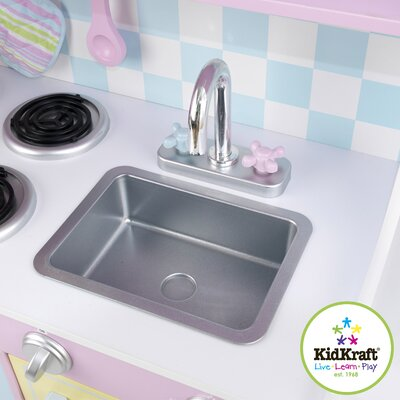 KidKraft Pastel Play Kitchen Set | Wayfair