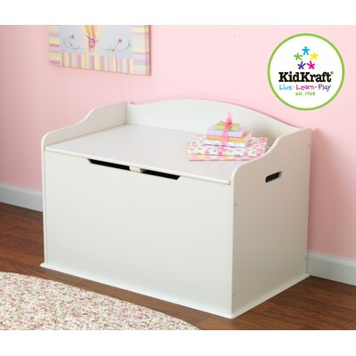 KidKraft Austin Toy Box in White