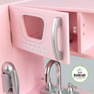 KidKraft Personalized Pink Vintage Kitchen
