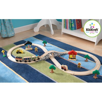 KidKraft 8 Figure Train Set