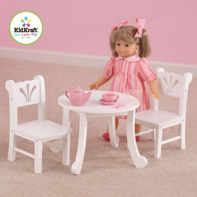 KidKraft Lil' Doll Table and Chair Set