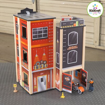 KidKraft Harley-Davidson Garage Play Set