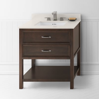 "Ronbow Newcastle 30"" Wood Vanity Set"