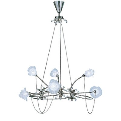 Lamp International Rosa Six Light Chandelier
