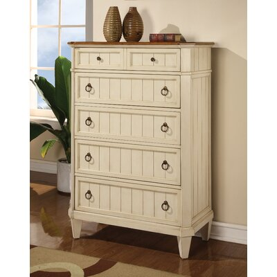 Wynwood Furniture Garden Walk 5 Drawer Chest