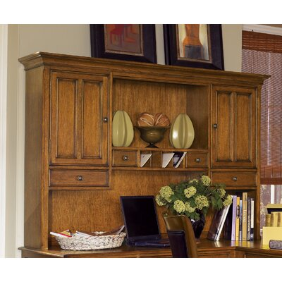 "Wynwood Furniture Halton Hills 46"" H x 66.75"" W Desk Hutch"