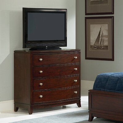 Wynwood Furniture Bellaire 4 Drawer Media Chest
