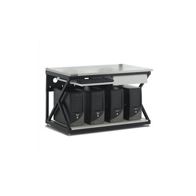 "Kendall Howard 48"" Performance LAN Station Workbench with Full Bottom Shelf / No Upper Shelving"