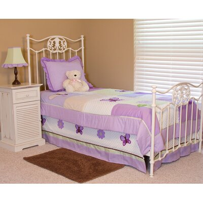 Lavender Butterflies Twin Bedding Collection