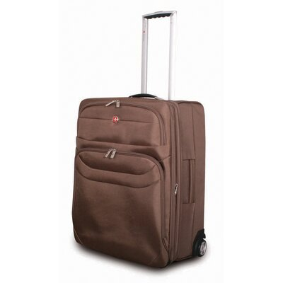 "Wenger Swiss Gear Chateau 24"" Upright Suitcase in Mocha"