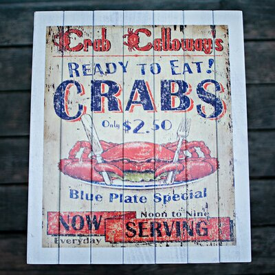 Dixie Seating Company Coastal Themed Crab Shack Side Table