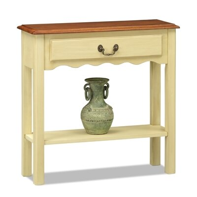 Leick Furniture Favorite Finds Wave Console Table