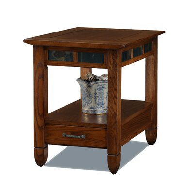 Leick Furniture Slatestone End Table
