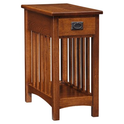 Leick Furniture Mission Impeccable End Table