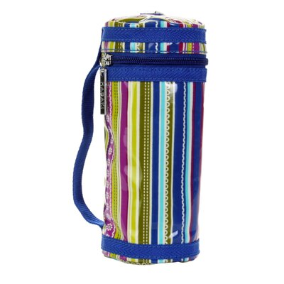 Hadaki Bottle Sleeve in Cobalt Stripes