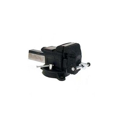 Adjustable Clamp 4&quot; Heavy-Duty Steel Bench Vise  30404                          