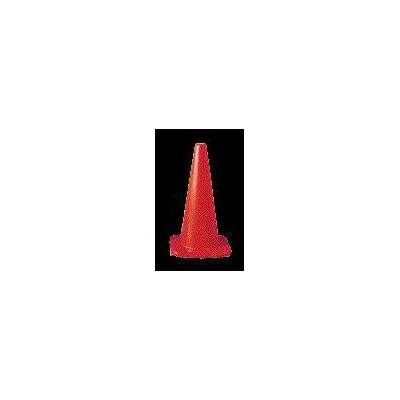 "American Allsafe Orange 5.5 FL Series Traffic Cone With Orange Base And 4"" And 6"" Collars"