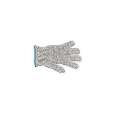 Ansell 7 Gray MultiKnit™ Medium Weight Polyester/Cotton String Gloves With Knit Wrist
