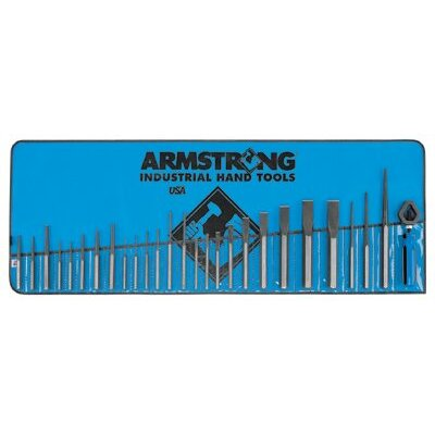 Armstrong Tools 27 Piece Punch and Chisel Sets - 27 peice punch and chisel set