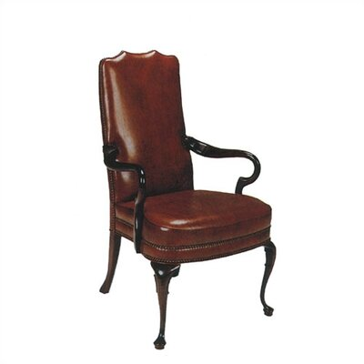 Distinction Leather Gooseneck Leather Armchair