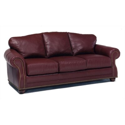 Addison Leather Sleeper Sofa