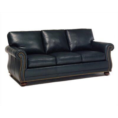 Manchester Leather Sleeper Sofa