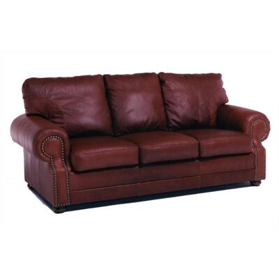 Distinction Leather Chelshire Queen Leather Sleeper Sofa