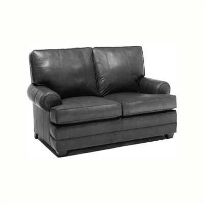 Bridgeport Leather Loveseat
