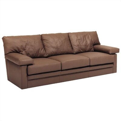 Distinction Leather Manhattan Leather Sleeper Sofa