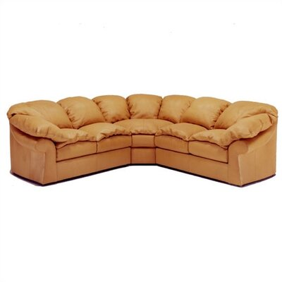 Distinction Leather Meridian Leather Sectional