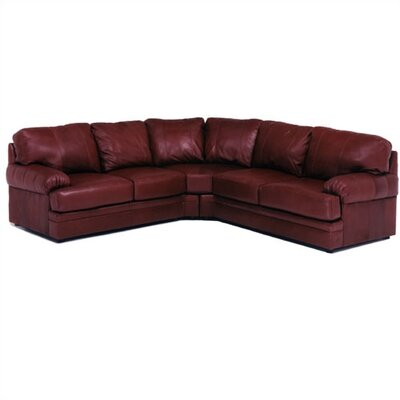 Dakota Leather Sectional