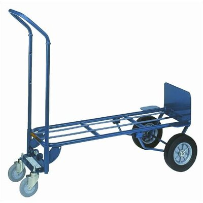 Wesco Manufacturing Two-In-One Deluxe Industrial Steel Hand Truck