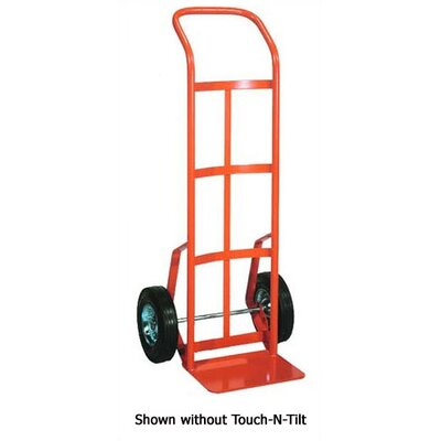 Wesco Manufacturing TNT56 Touch-N-Tilt Ergonomic Industrial Steel Hand Truck