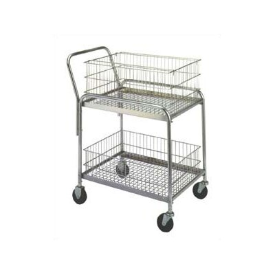 Wesco Manufacturing Compact Office Cart