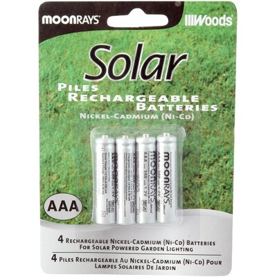 Coleman Cable AAA Rechargeable NiCd Battery (Set of 4)