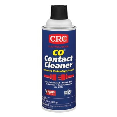 Crc CO® Contact Cleaners - 16oz co contact cleaner