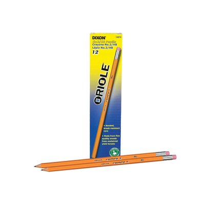Dixon Ticonderoga Company Oriole Woodcase Pencil, 6 bxs/Pack