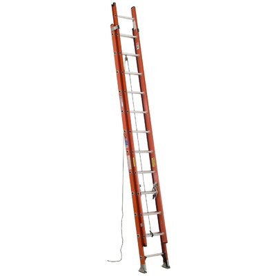 Werner 28' Fiberglass Extension Ladder D6228-2