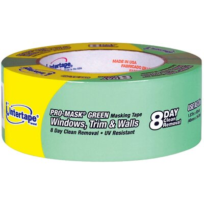 "Intertape Polymer Group 2"" Premium Grade Pro-Mask Green™ Painters' Tape 5805-2"